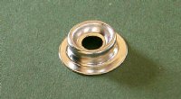 Press Stud Nickel Plated Brass